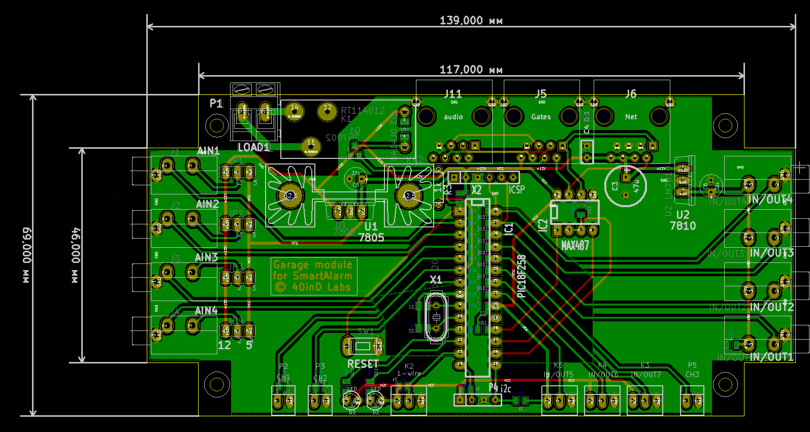 garage pcb project