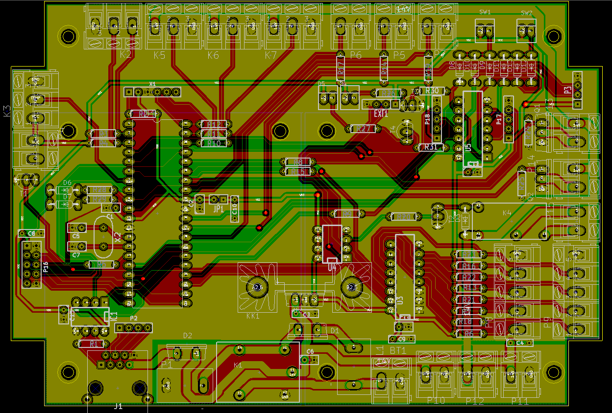 gate pcb project