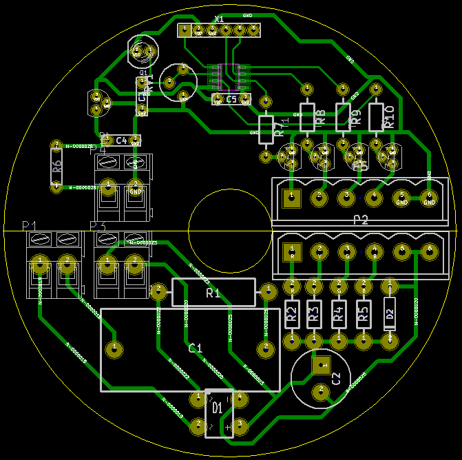 moodlight mainboard pcb